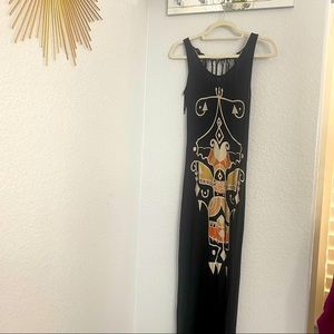 Tribal Long Dress